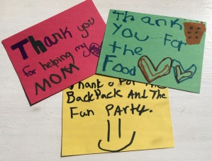 kids thank you's