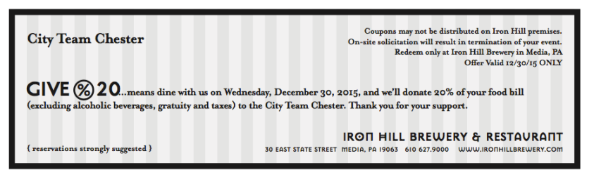 iron hill voucher